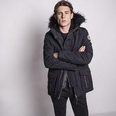 Parka homme IKKS (MG42083) | Vêtement Homme Hiver 15