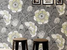 Muuan Dark Grey Wallpaper
