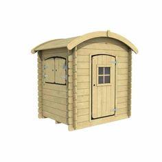 Houten speelhuisje   WoodVision - Kinderspeelhuisje Wende Speelhuis – JouwSpeeltuin Shed, Outdoor Structures, Barns, Sheds
