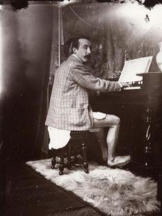 Paul Gauguin, by Alphonse Mucha, 1893