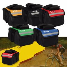Front Tube Panniers- Foldable Bicycle Bag