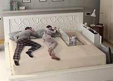 18 Cool Products For Kids That Are Really Designed For Adults Bedroom Decor, Double Bed Designs, Bedroom Bed Design, Bed Design, Home, Room Partition Designs, Bedroom Design, Home Bedroom, Baby Bedroom