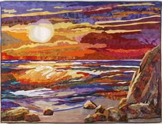 quilted picture art   wowza amazing quilt by quilt artist grace errea of course the image is ...