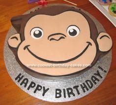 Curious George cake!