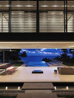 Luxury Villa Amanzi, Phuket, Thailand 4 - living room with stunning sea views