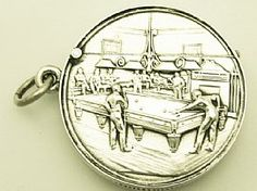 A fine and collectable antique Edwardian English sterling silver vesta case with billiard interest  http://www.acsilver.co.uk/shop/pc/Sterling-Silver-Vesta-Case-Antique-Edwardian-42p4276.htm