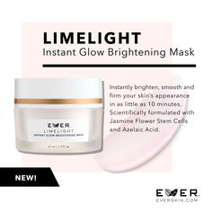 For glowy, bright skin! www.everskin.com/with/lizmccreight