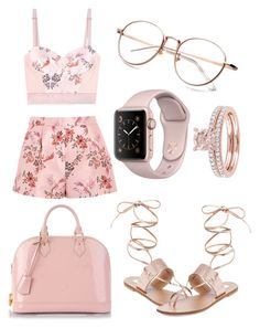 """naughty fiancé"" by alya-rayhani ❤ liked on Polyvore featuring Steve Madden, STELLA McCARTNEY and Louis Vuitton"