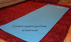 Yoga Towel mat - cover another mat for sanitary reasons, or use while traveling http://www.amazon.com/gp/product/B00OGZCVJI