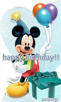 Best Happy Birthday Wishes giortazo Make someone's birthday more special Pics And Gifs Happy Birthday Wishes Pics, Happy Birthday Fun, Happy Birthday Minions, Happy Birthday Celebration, Mickey Mouse Art, Birthday Board, Useful Life Hacks, Wedding Humor, Minions Minions