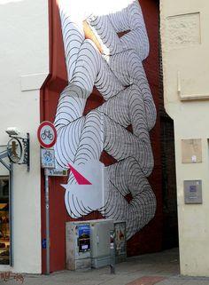 2009 Lüneburg - ARTotale, Leuphana Urban Art Projekt, Künstler: 1010 (Robert elch / Panoramio) ☺