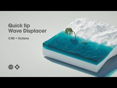 (21) Tips: Creating animated Wave Displacer in Cinema 4D, Octane - YouTube