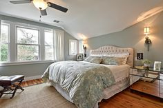 Bedroom Design Ideas, Pictures, Remodel and Decor Benjamin Moore- Tranquility