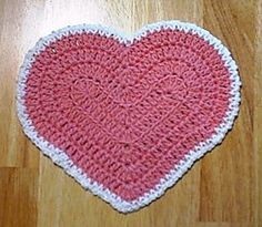 Ideas Crochet Heart Dishcloth Pattern Stitches For 2019 Crochet Home, Crochet Gifts, Easy Crochet, Free Crochet, Ravelry Crochet, Crochet Kitchen, Crochet Baby, Afghan Crochet Patterns, Knitting Patterns