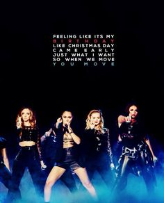 Little Mix: Move - Day 8: great for dancing games ^.^