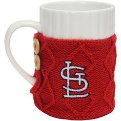 St. Louis Cardinals Cable Knit Sweater Mug