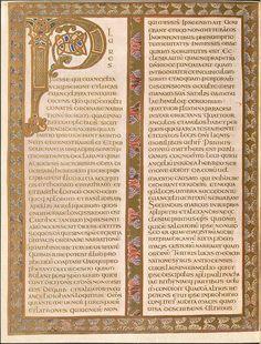 Evangeliar (Codex Aureus) - BSB Clm 14000 b, via Flickr.
