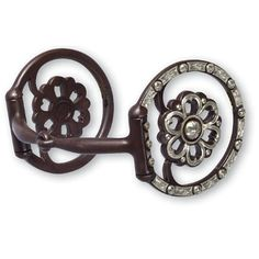 Classic Equine Clover Center Dee Ring Snaffle Bit and Western Snaffle Bits | EQUESTRIAN COLLECTIONS.COM