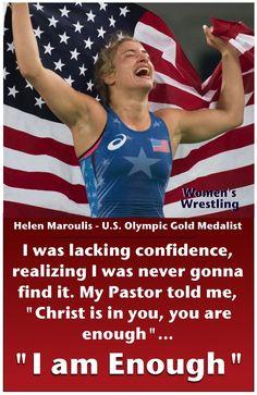 Helen Maroulis-U.S. Olympic Gold Medalist