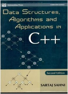 Data Structures Algorithms And Applications In C In 2020 Data Structures Textbook Writing Algorithm
