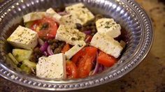 Traditional Greek Salad - My Family Recipe Rocks!