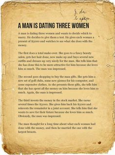 Men are dumb.