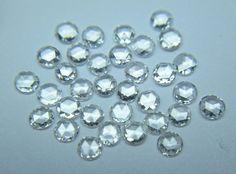 mm size G-H Color Si White Round Rose Cut Diamond Lot scope Diamond Earrings, Stud Earrings, Rose Cut Diamond, White Roses, Ebay, Color, Jewelry, Natural, Jewlery