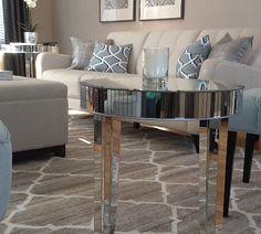 Bright neutral living room