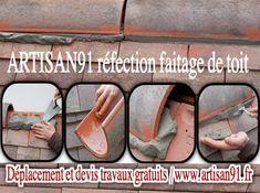 Selon ARTISAN91 ( www.artisan91.fr ) artisan couvreur en toiture couverture le faîtage permet de fixer de manière durable les deux versants de votre toiture. A-fin qu'évidemment le toit ne soit pas en difficulté lors de la première tempête. Un matériau fait traditionnellement de mortier et a pour but premier d'assurer l'étanchéité et la solidité de la couverture de votre maison . Recevez un devis 100% gratuit pour vos travaux de faitage de toit via : www.artisan91.fr/contact-devis/ Artisan, Construction, Thermal Insulation, Building, Craftsman