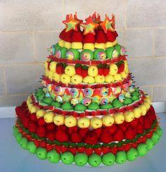 tartas de chuches por pomponsweet