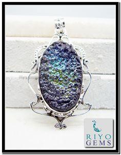 Druzy Drusy Druse Gemstone Jewelry http://www.riyogems.com/