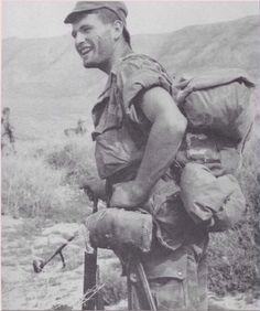 Para du 3ème RPC le 2 avril 1956  sur le djebel Rihifouf Opération avec le 8ème…