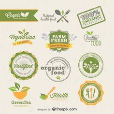 Listings (out of Exclusive free vectors by Freepik Dessert Logo, Logo Verde, Paper Bag Design, Brand Fonts, Logo Restaurant, Free Instagram, Logo Food, Free Logo, Name Cards