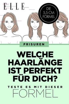 Hair Length: With this formula, you can find out which one is yours Lange oder kurze Haare? Mit dieser Formel findest du heraus, welche Haarlänge dir am besten steht - Unique Long Hairstyles Ideas Permed Hairstyles, Easy Hairstyles, Hairstyle Ideas, Homemade Dry Shampoo, Rides Front, Which One Are You, Light Hair, Prom Hair, Hair Lengths
