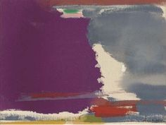 Untitled By Helen Frankenthaler Abstract Painters, Abstract Art, Post Painterly Abstraction, Helen Frankenthaler, Large Canvas Art, Artist Art, American Artists, Abstract Expressionism, Painting Inspiration