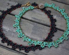 TUTORIAL Lotus Chain beaded bracelet with Super by MadeByOlga