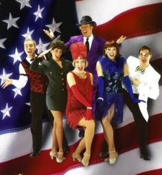 Military groups love coming to the Clay Cooper Theatre to see Red Hot & Blue!