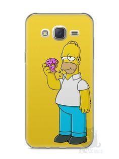 Capa Capinha Samsung J7 Homer Simpson Comendo Donut - SmartCases - Acessórios para celulares e tablets :)