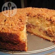 Apple Streusel Coffee Cake @ allrecipes.co.uk