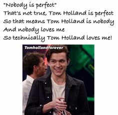 THERES ONE FOR TOM HOLLAND?! I THOUGHT THERE WAS ONLY ONE FOR JOSH DUN