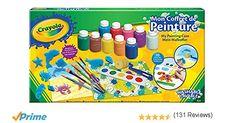Crayola – My Painting Set – Activités pour enfants – Kit Crayola