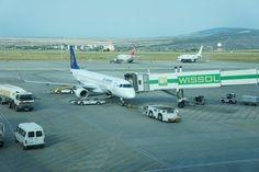 * Aeroporto Internacional de Tbilisi *   Capital da Geórgia.