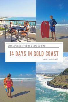 5 Globetrotters budget: 14 days in Gold Coast ($1000) Travel With Kids, Family Travel, House Swap, Tree Hut, Baby Equipment, Family Of 5, Next Holiday, Australia Travel, Gold Coast