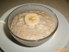 Šlehaná banánovo-ovesná kaše Oatmeal, Breakfast, Kitchen, Diet, The Oatmeal, Morning Coffee, Cooking, Kitchens, Cucina