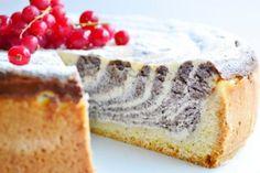 Jemný makový koláč s tvarohom a citrónovým nádychom Czech Recipes, Oreo Cupcakes, Camembert Cheese, French Toast, Cheesecake, Food And Drink, Cooking, Breakfast, Desserts