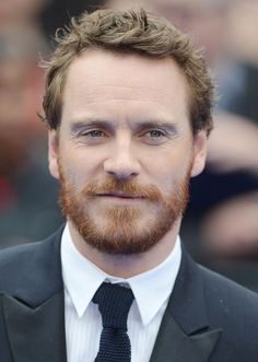 No one can deny that Michael Fassbender is glorious and apparently director Justin Kurzel agrees. Fassbender has been added to play the key role of the titular King in an upcoming adaptation of Wil… Michael Fassbender, Ginger Day, Cute Ginger, Sexy Bart, Ginger Beard, Red Beard, The Daily Show, Christian Bale, Christian Grey