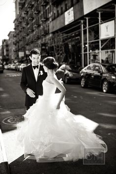 Photography: Shawn Connell Of Christian Oth Studio - christianoth.com  Read More: http://www.stylemepretty.com/tri-state-weddings/2014/02/07/traditional-nyc-wedding-at-angel-orensanz-foundation/
