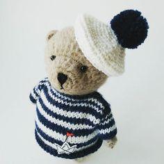 #teddybear #bear #crochetbear #knittedbear #handmadebear #giftforbaby #мишкакрючком #мишкатедди #вязанаяигрушка