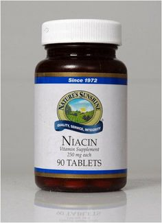 Niacin (250 MG) (90) Nature's Sunshine,