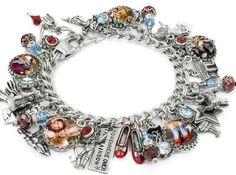 Wizard of Oz Necklace Wizard of Oz Jewelry Glass Pendant